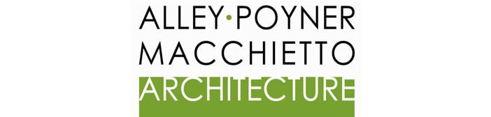Alley Poyner Macchietto Architecture Logo